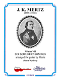 Six Schubert Songs arr. Mertz